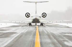 Potassium acetate is used as an antifreeze in airport runways