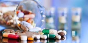Benzotriazole in the production of pharmaceutical products