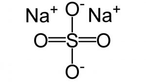 chemical structure of sodium bisulfate