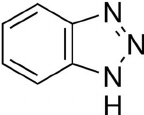 Chemical structure of Benzotriazole