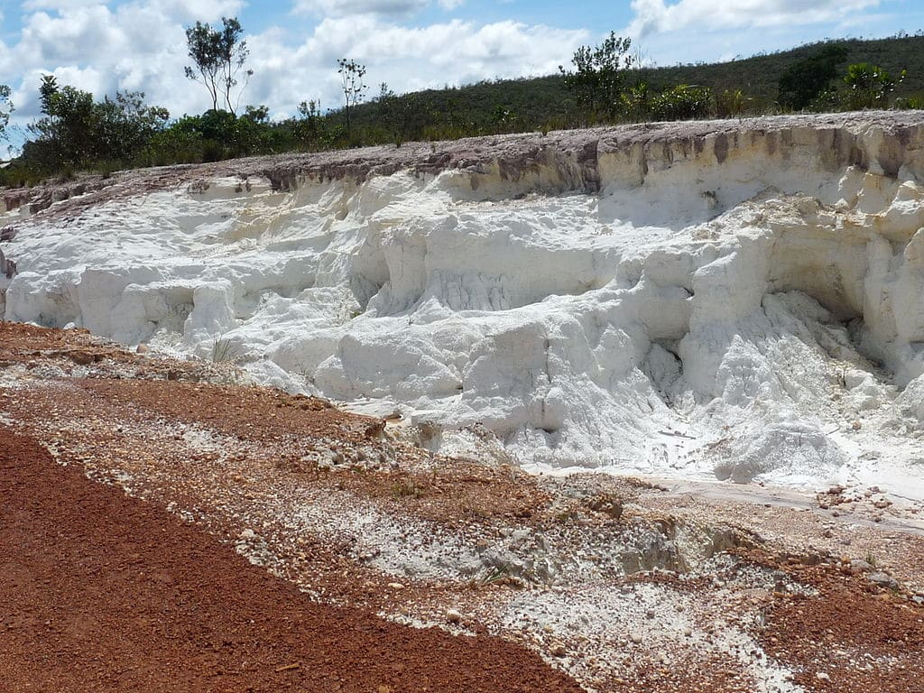 Kaolin reserves and mines