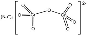 chemical structure of sodium dichromate