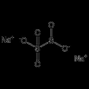 chemical structure of Sodium metabisulfite