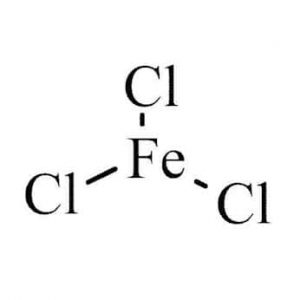 chemical structure of ferric chloride