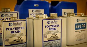 Use of triethylene glycol in the production of polyester resins