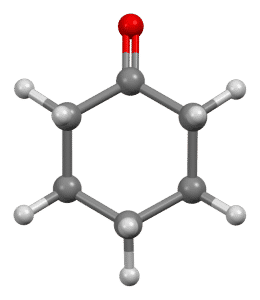 spatial structure of cyclohexanone