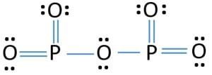 the lewis structure of phosphorus pentoxide