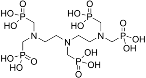 chemical structure of DTPMP