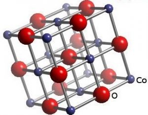 Spatial structure of cobalt oxide