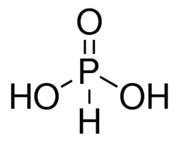 chemical structure of Phosphorous Acid
