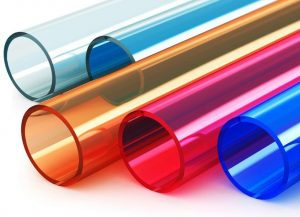use of synthetic resins in plastic tubing
